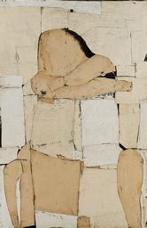 Conrad Marca-Relli, Seated Figure, 1953-54