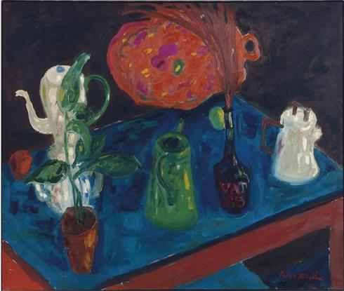 Felix Pasilis (1922- ), Still Life, 1956