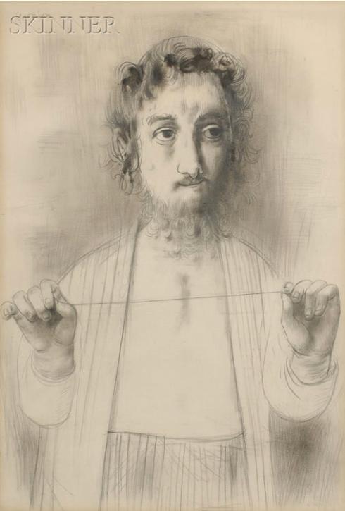 David Aronson, Ishmaelite, 1955