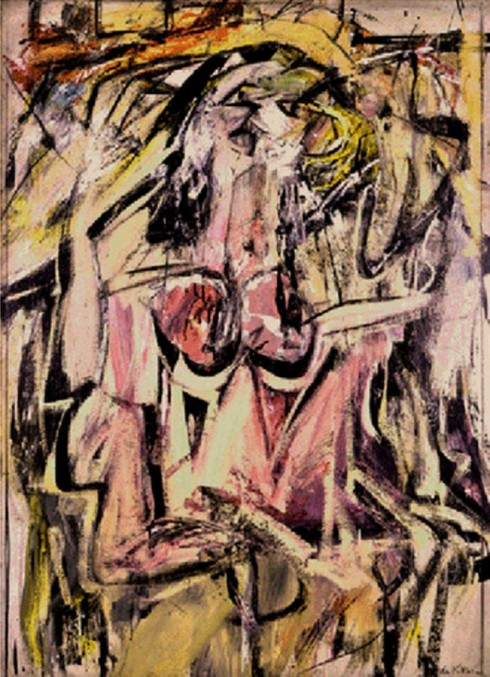 Willem de Kooning, Woman, 1949-1950
