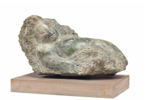jose-de-creeft-untitled-reclining-figure-signed-marble-9-12-x-14-14-x-7-in-not-including-base-1968